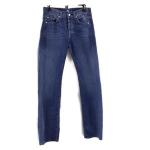 7 For All Mankind Standard Blue Jeans Sz 28